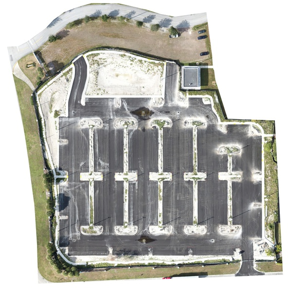 BETTY T FERGUSON RECREATIONAL COMPLEX - Parking Lot Construction