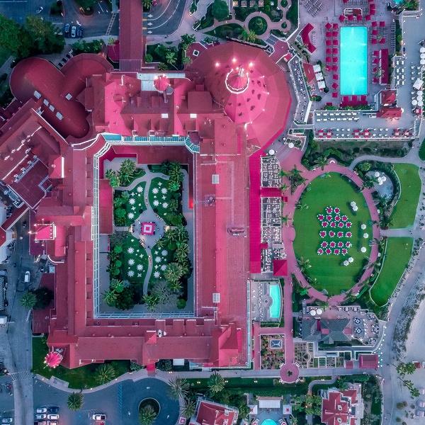Hotel Del, Coronado, CA.