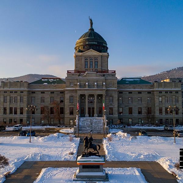 Capitol of Montana