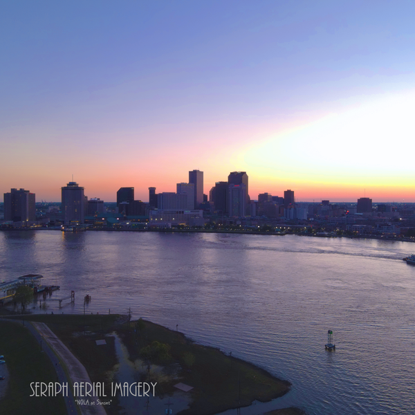 New Orleans at Sunset