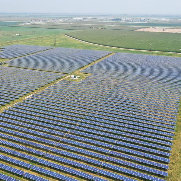 Nebraska Solar Field