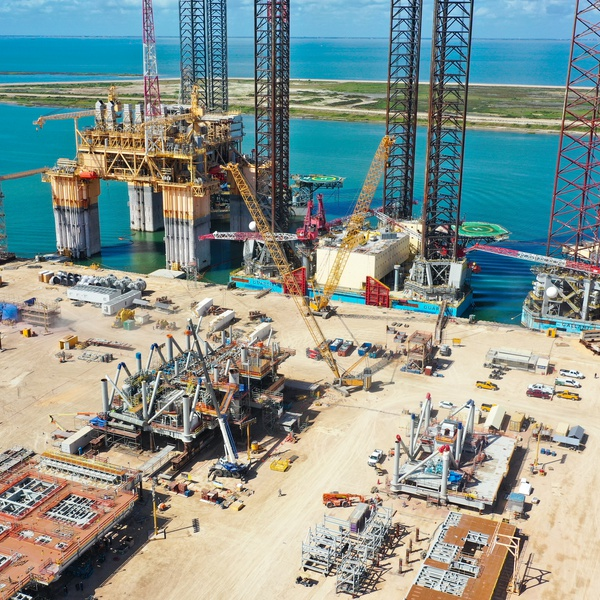 Offshore Industrial Construction