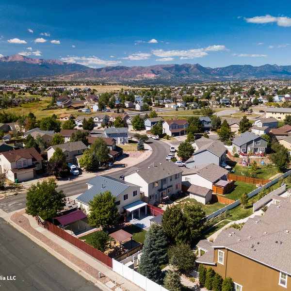 Great shot of beautiful Colorado during a real estate shoot