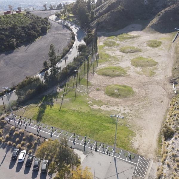 A Golf Putting Course in Burbank