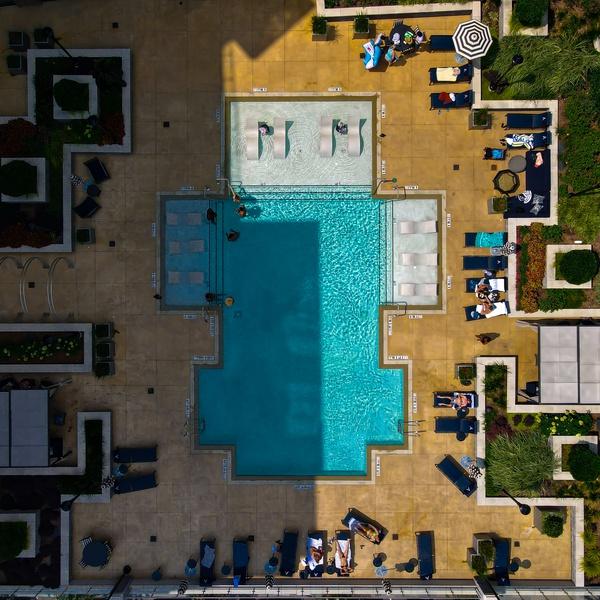 Aerial Pool shot