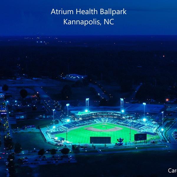 Atrium Health Stadium Kannapolis NC