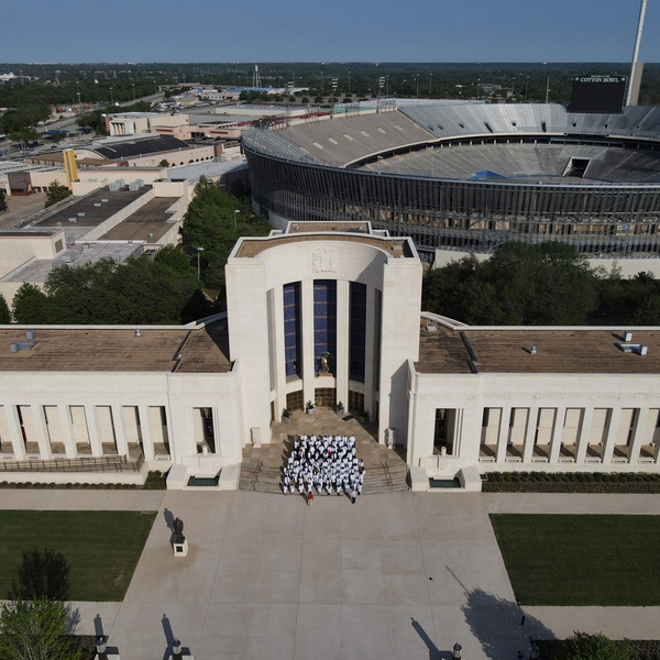 Texas A&M College of Dentistry class of 2021 at Fair Park Dallas