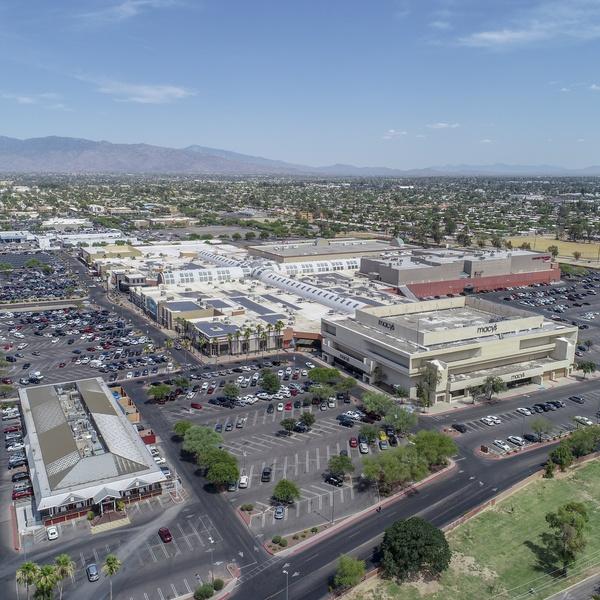 Mall Aerial Photo