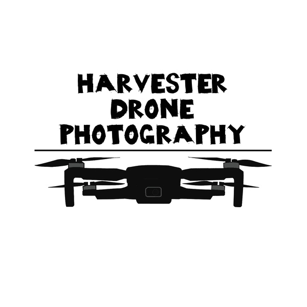 Harvester Drone Photography