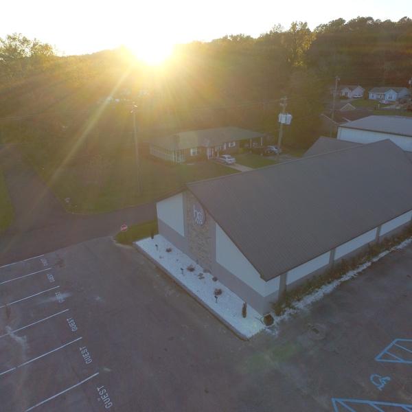 Harvest Center COG Sun Set