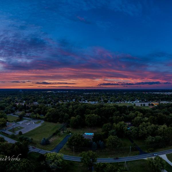 Sunset Pano 2