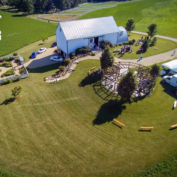 A wedding/reception at the Century Barn in Mount Horeb, WI