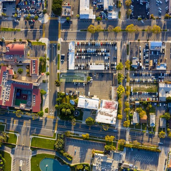 STREET CITY BLOCK SURVEY OVERHEAD