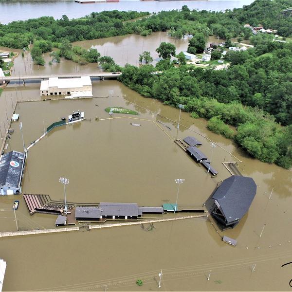 2019 Flooding at Hannibal MO