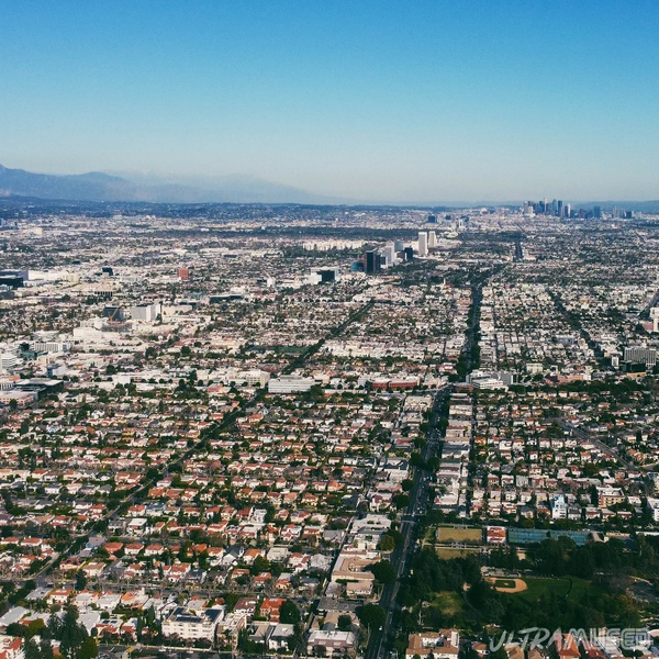 The Urban Sprawl of Los Angeles towards DTLA