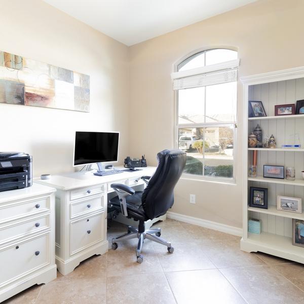 Interior residential office shot