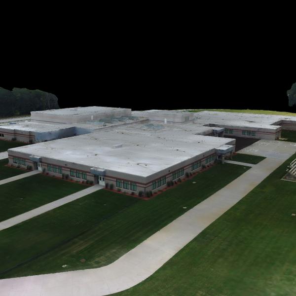 Perry Creek School 3D Model