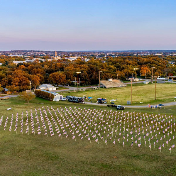 Field of Flags Veterans Day