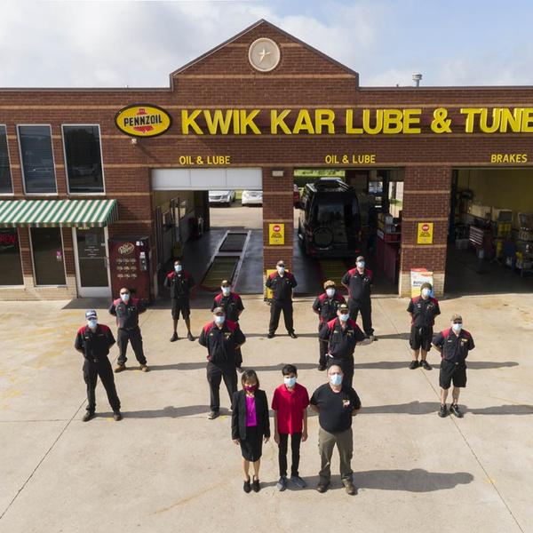 Staff at Kwik Lube