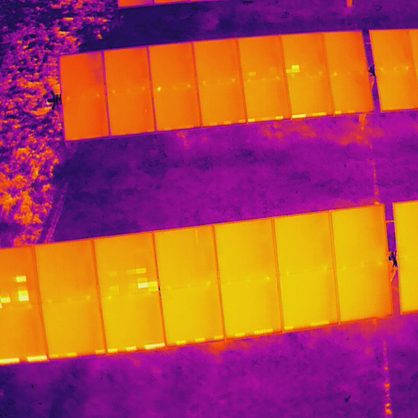 Solar panel fault detection.