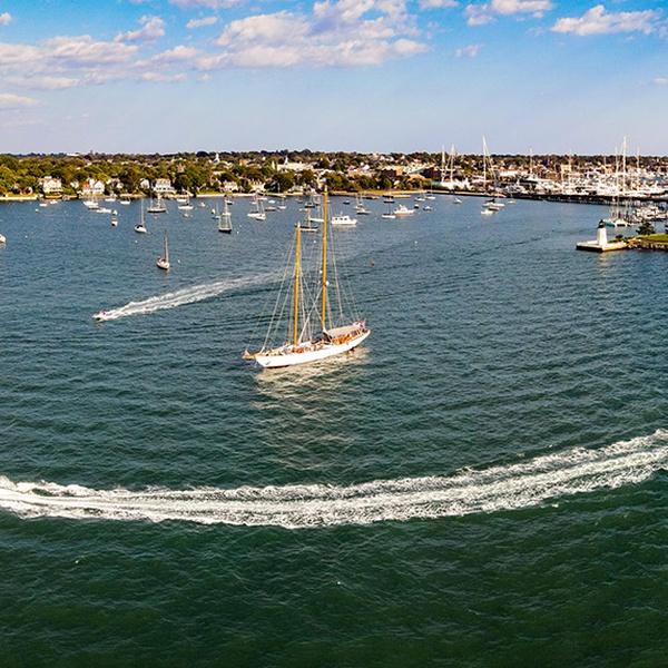 Newport, RI sailboats