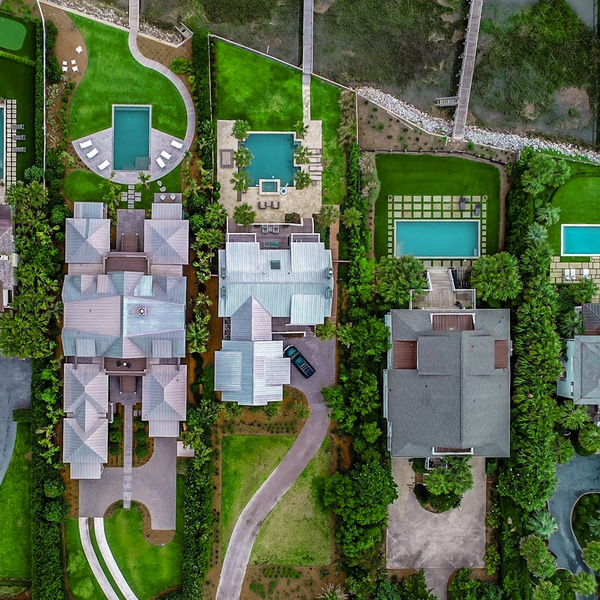 Waterfront properties in Charleston, South Carolina