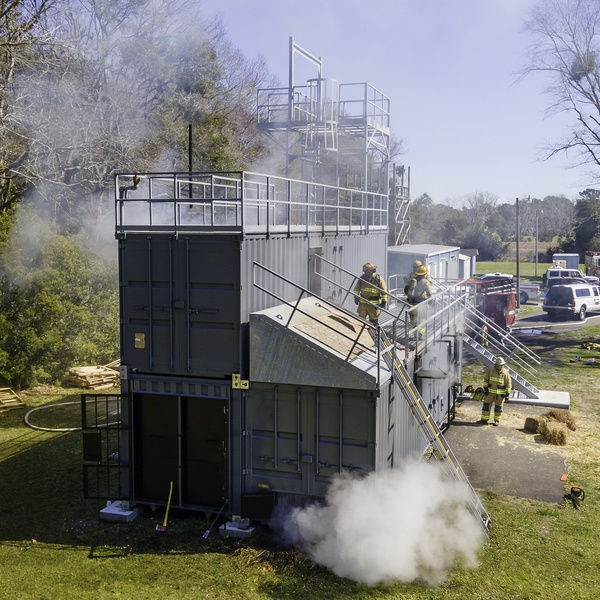 Fire Training Structures Video Shoot