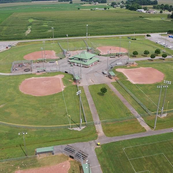 Baseball Fields- Priceville, Alabama