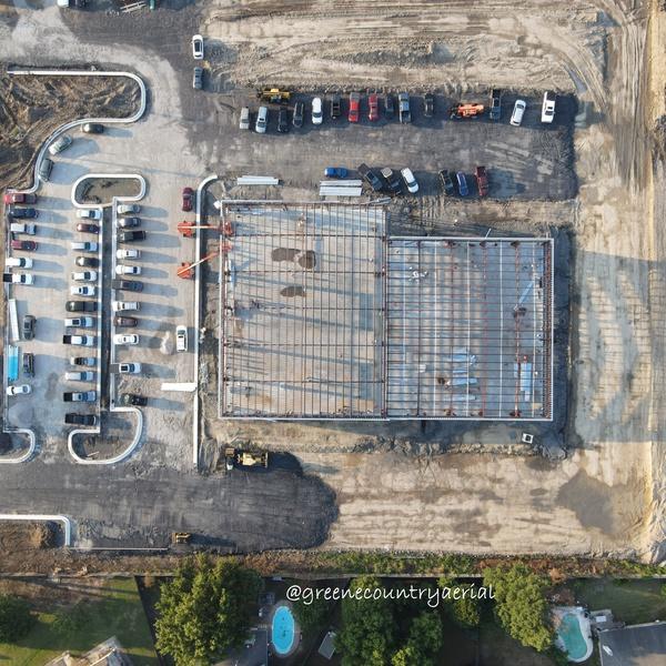Construction Progress - Overhead
